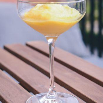 Ananas sorbet opskrift fra Bageglad