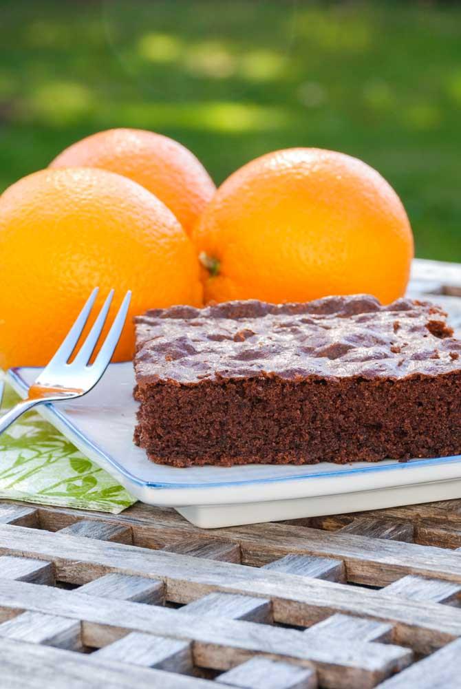 Appelsin chokoladekage opskrift