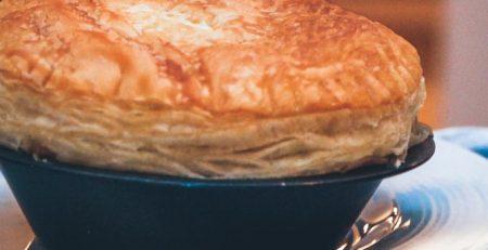 Grøntsag pot pies opskrift