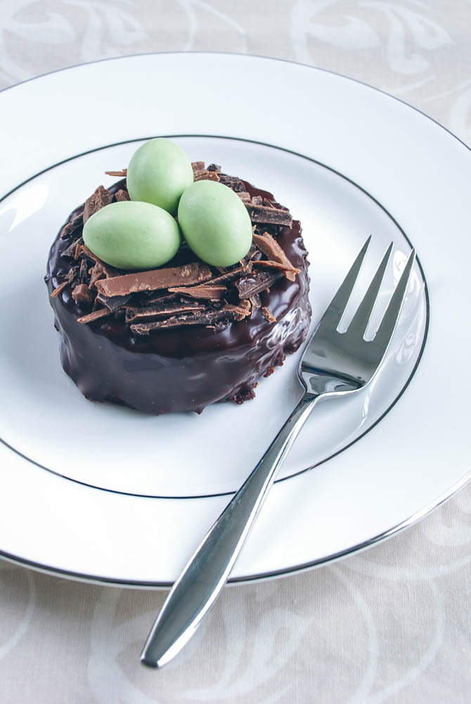 Påske chokoladekager