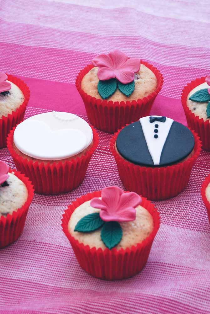 Forlovelsescupcakes fra Bageglad