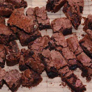 Brownie stykker