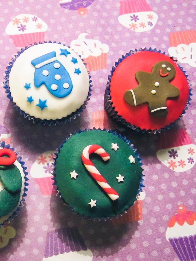 Cupcakes til jul fra Bageglad