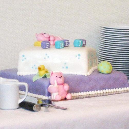Barnedåb kage