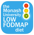 Monash FODMAP app for iPhone