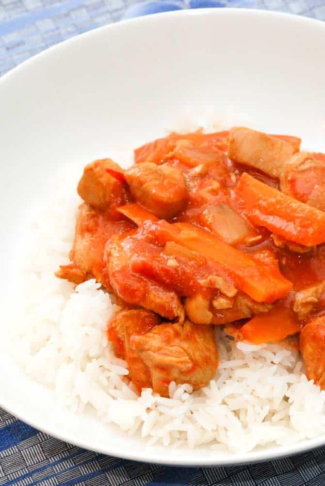 Vietnamesisk kylling gryderet opskrift