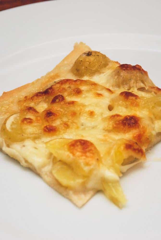 Kartoffelpizza opskrift