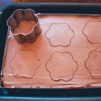 Udstikke chokoladekager