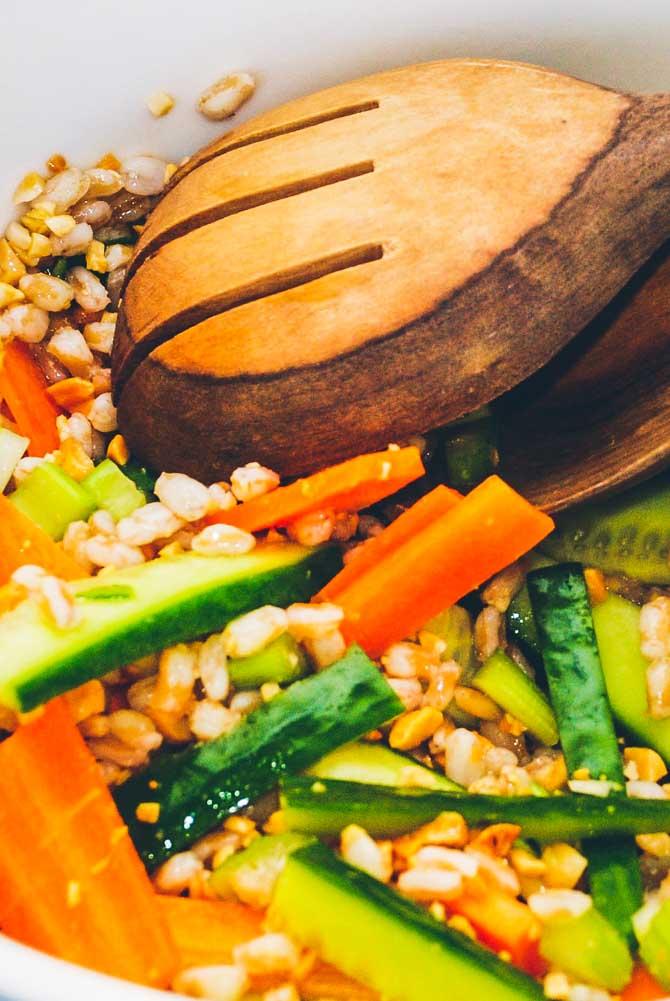 Japansk salat opskrift