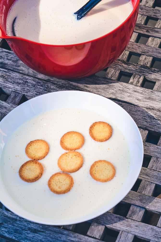 Soya koldskål fra Bageglad