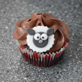 Får cupcake opskrift