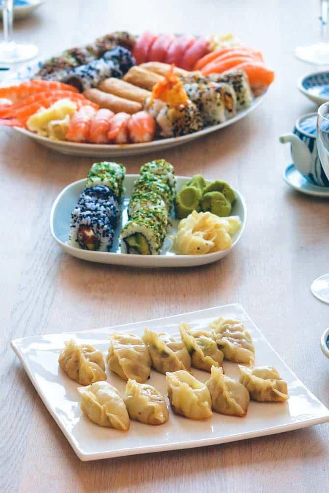 Japansk mad opskrift