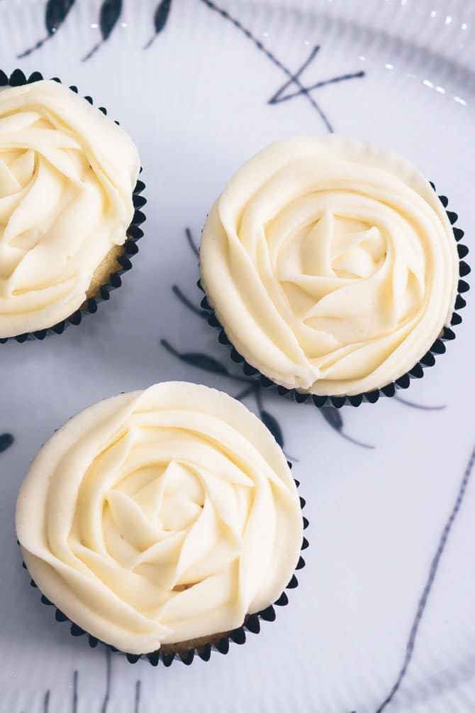 cupcakes opskrift vanilje