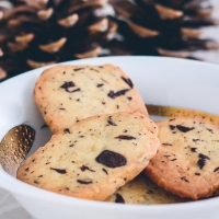 Chokolade ingefær småkager opskrift