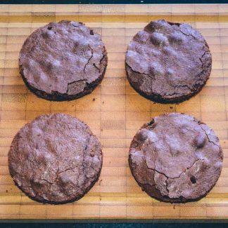 Runde brownies