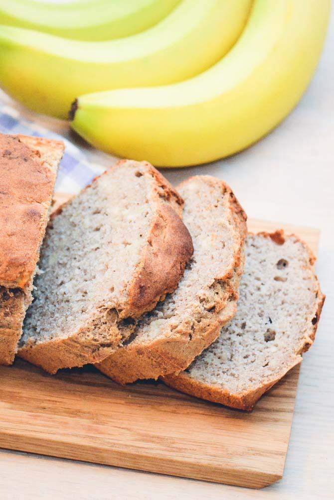 Glutenfri bananbrød opskrift