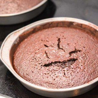 Bagt chokoladekage