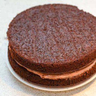 Chokoladelagkage opskrift