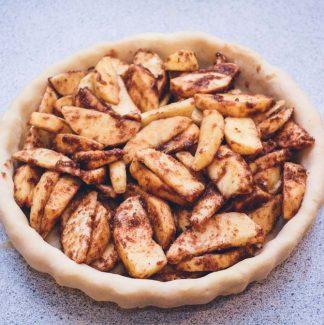Æble og kanel