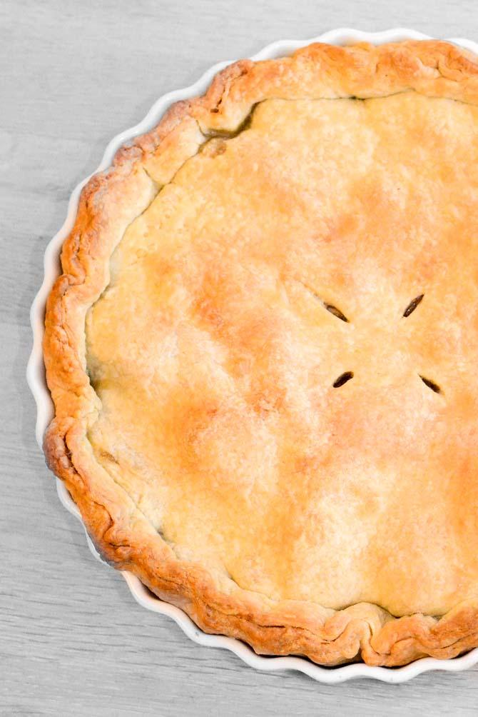 amerikansk æbletærte