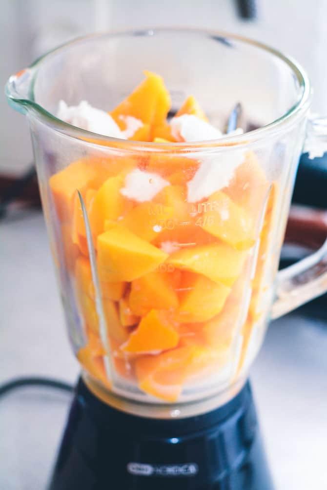 Blende mango