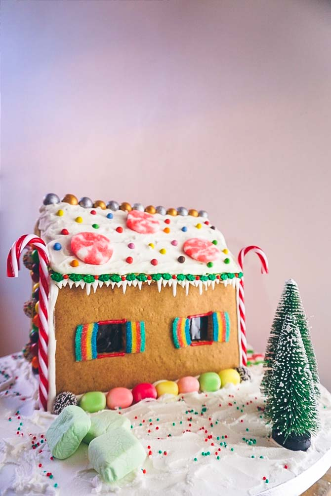 Kagehus opskrift til jul
