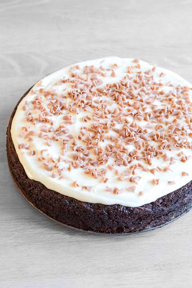 Chokolade fudge kage fra Bageglad