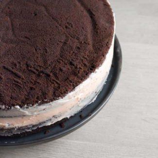 Chokoladelagkage med smørcreme