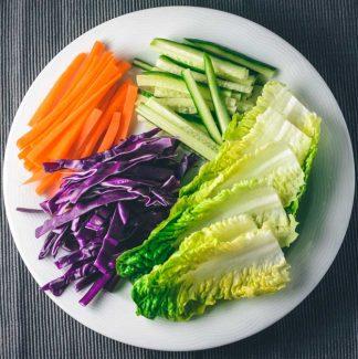 Grøntsager til sommerruller