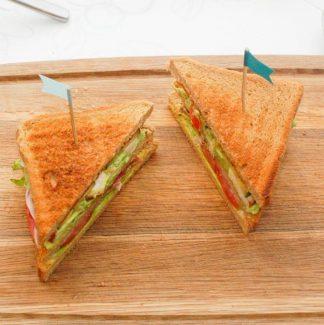 Trekant sandwiches