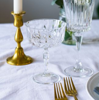 Krystal champagneglas