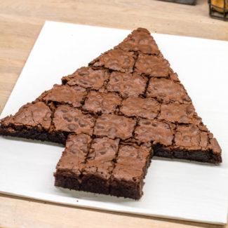 Skære brownies