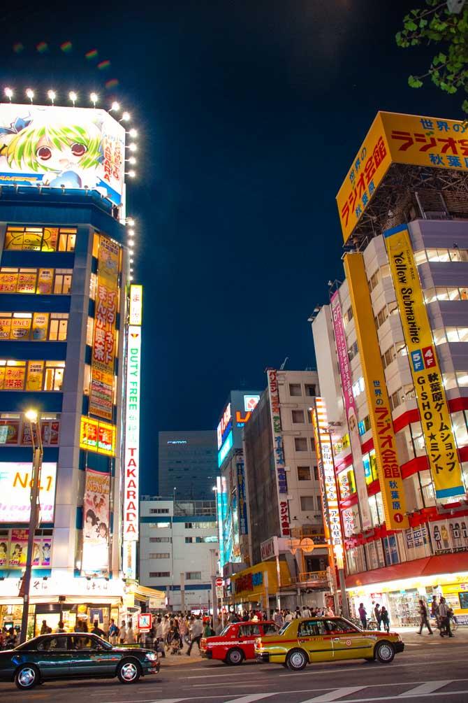 Akihabara i Tokyo
