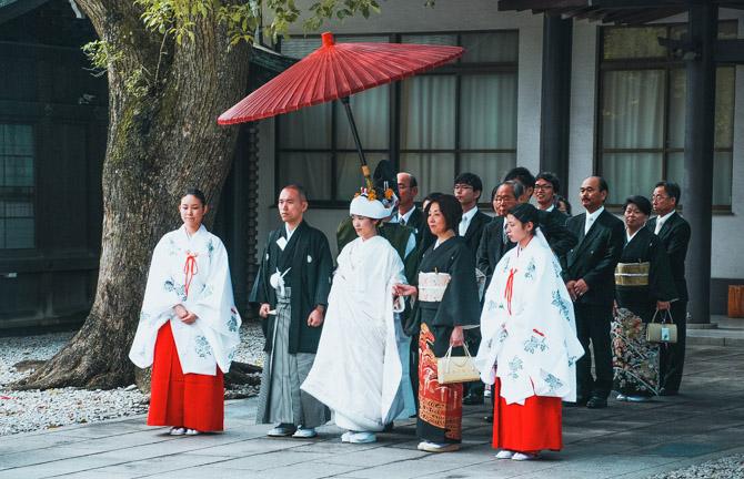 Japansk bryllup