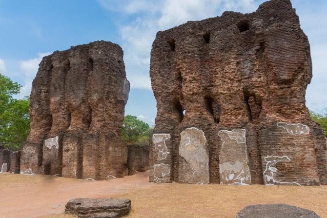 Polonnaruwa ruiner