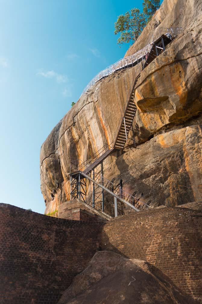 Sigirya Rock i Sri Lanka