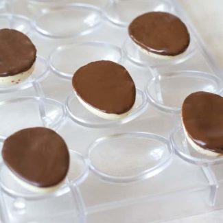 Mørk chokolade bund